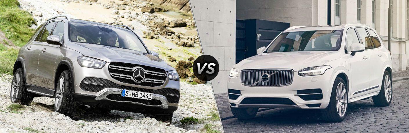 Mercedes GLE vs Volvo XC90