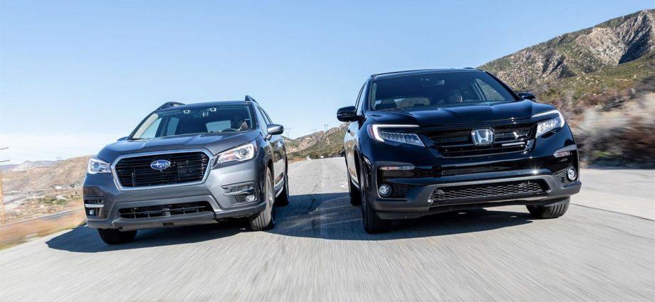 2020-Honda-Pilot-Black-Edition-AWD-vs-2020-Subaru-Ascent-Touring-SUV-comparison-4