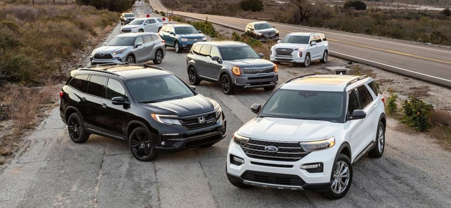 3-Row Midsize SUV Comparison Test