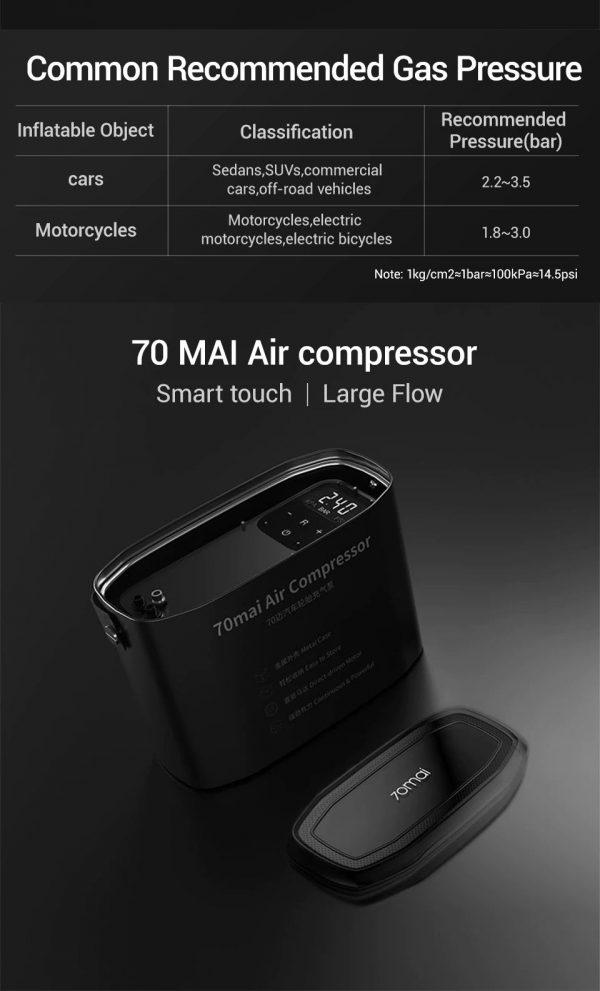 70mai Portable Air Compressor - 1