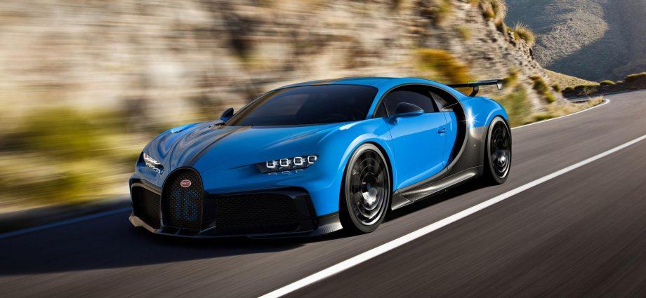 Bugatti Chiron Pur Sport-Front