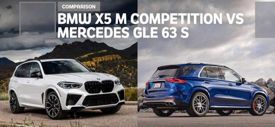 Mercedes-AMG GLE 63 S vs. BMW X5 M Competition Comparison