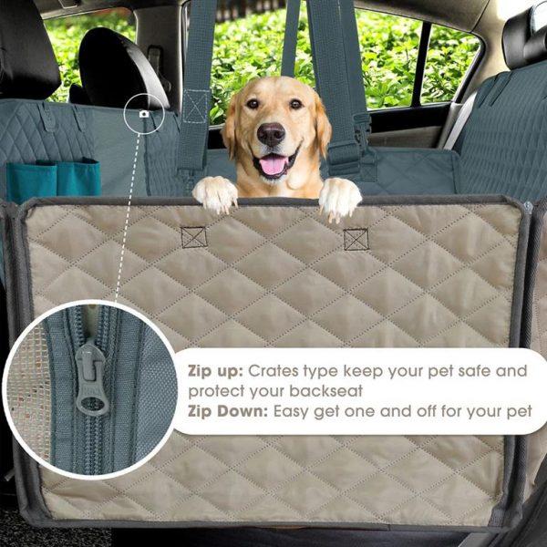 Prodigen Dog Car Seat Cover - 5