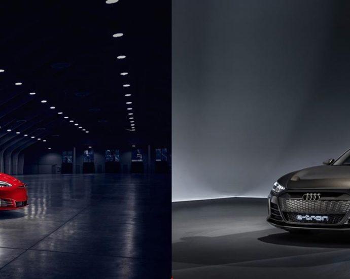 Tesla-Model-S-Versus-Audi-e-tron-GT-Concept
