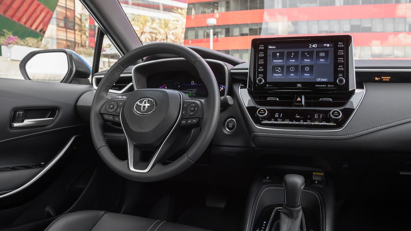 2020 Toyota Corolla XSE Hatchback Interior Review: Can ...
