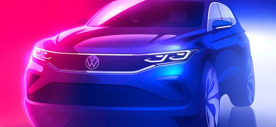 2022 Volkswagen Tiguan First Look