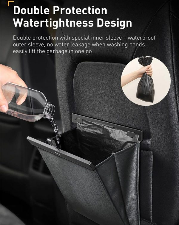 Baseus Backseat Car Garbage Bag - Water