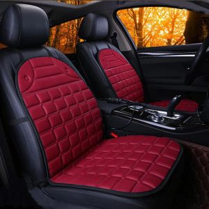 Heated Car Seats - red