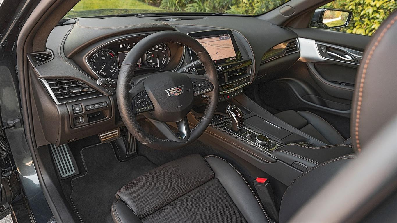 2020 cadillac ct5 interior review—luxurious enough