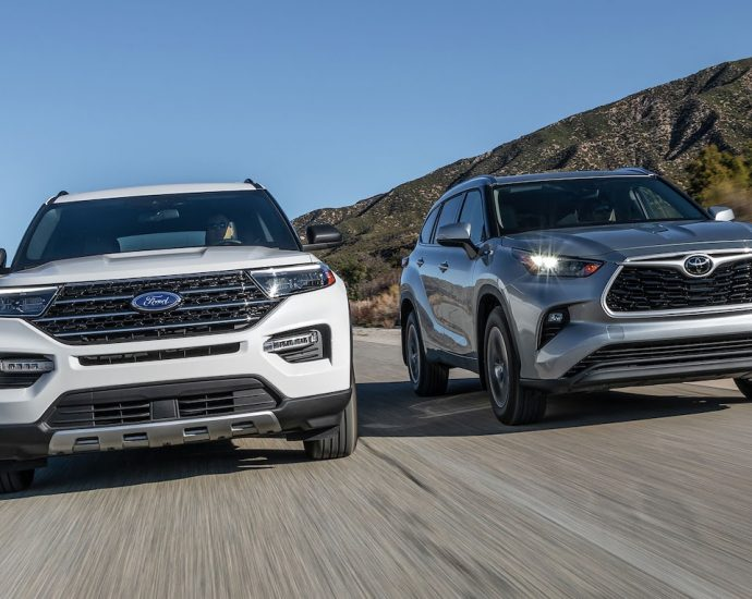Toyota Highlander vs. Ford Explorer