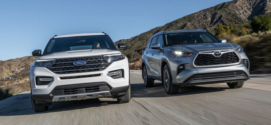 Toyota Highlander vs. Ford Explorer