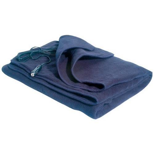 Comfy Cruise Heated Travel Blanket - Navy 1