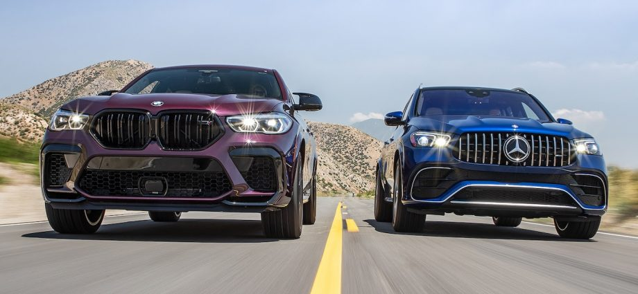 BMW X6 M vs. Mercedes-AMG GLE 63