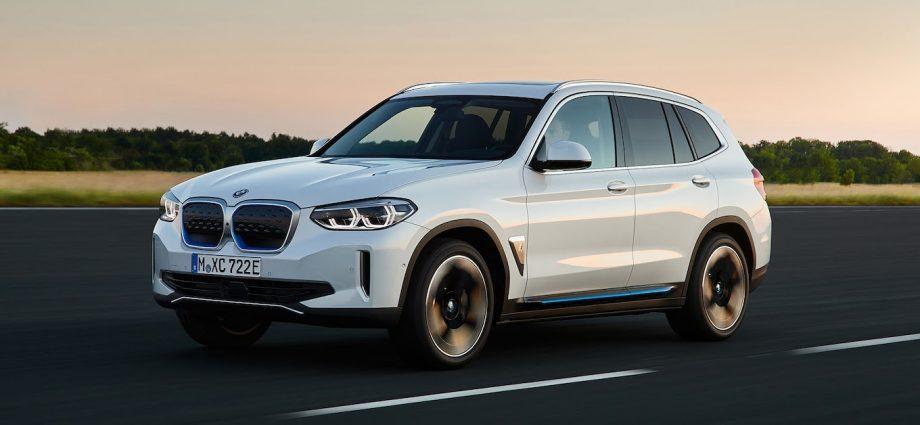 BMW iX3 EV SUV
