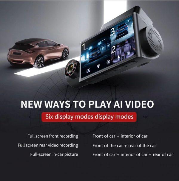 3 Camera Car Dash Camera - 1