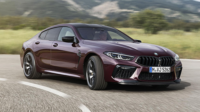 BMW M8 Gran Coupe review