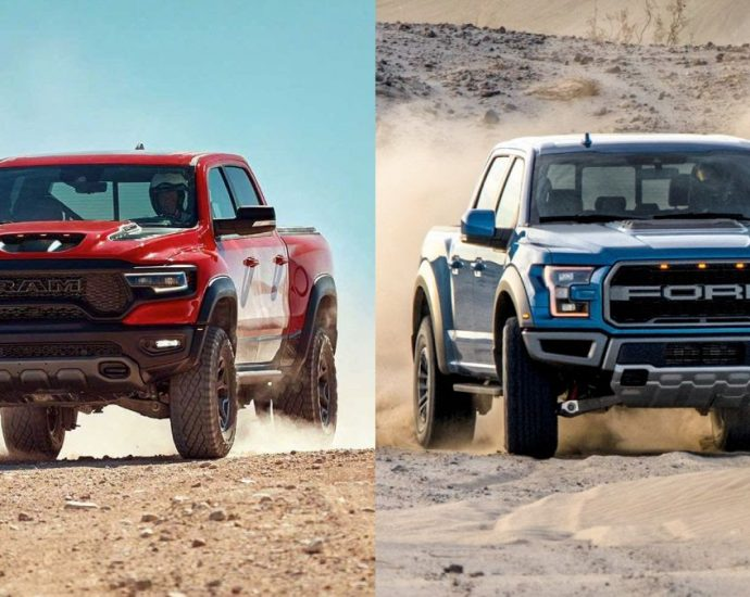 2021 Ram TRX Vs Ford F-150 Raptor