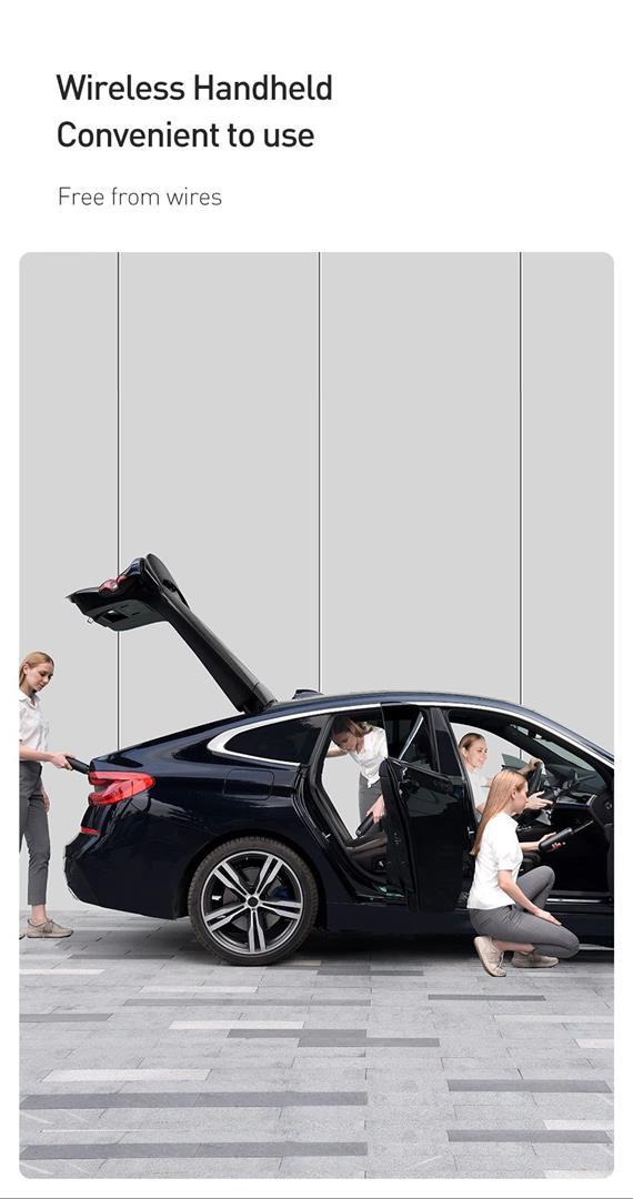 Portable Car Vacuum Cleaner - 2