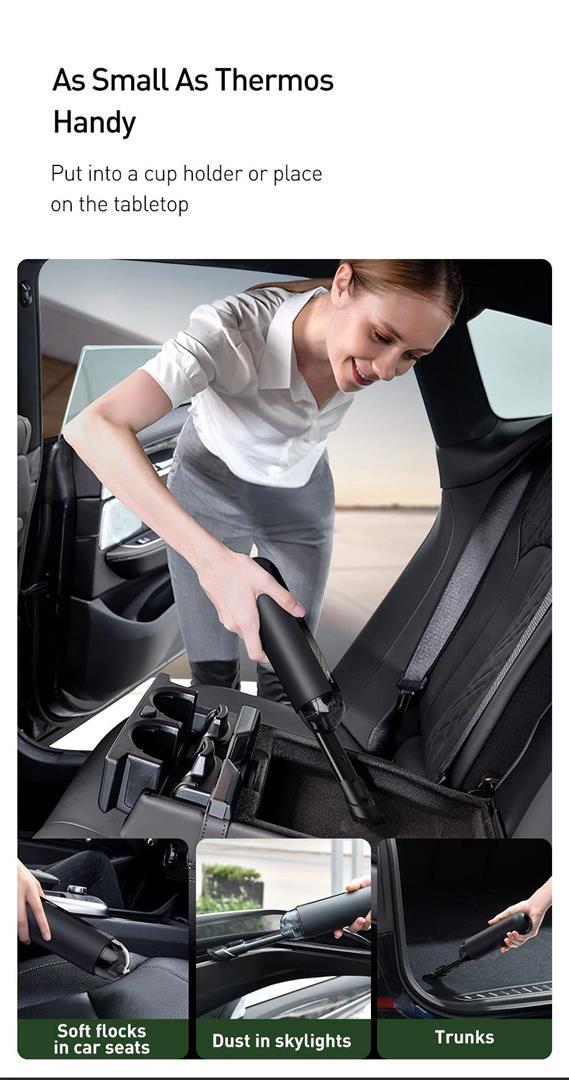 Portable Car Vacuum Cleaner - 4