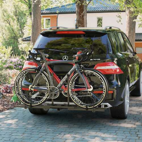 Heavy Duty 2 Bicycle Hitch Mount Carrier 1
