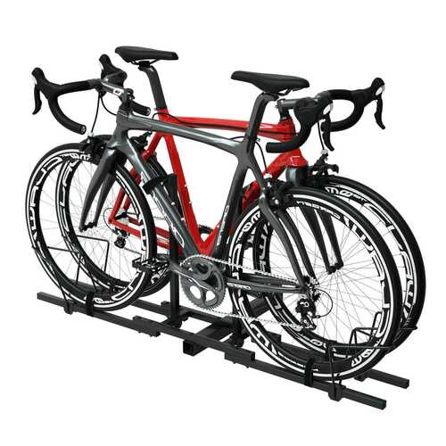 Heavy Duty 2 Bicycle Hitch Mount Carrier 2