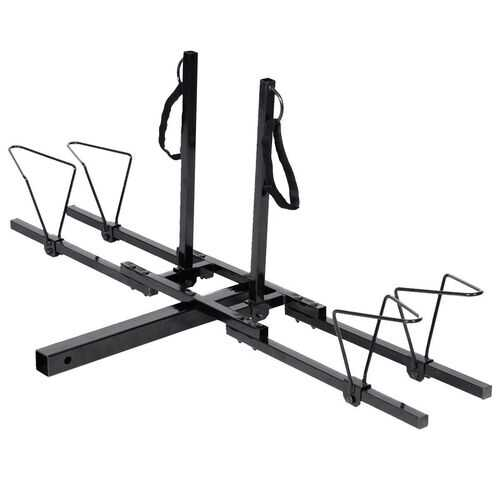 Heavy Duty 2 Bicycle Hitch Mount Carrier 3