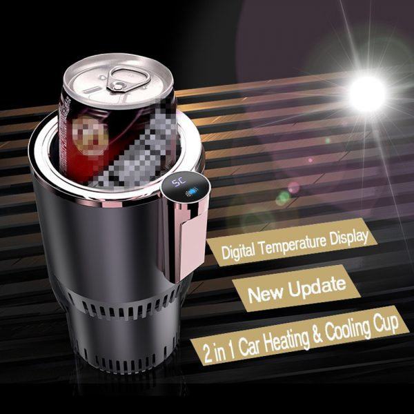 Intelligent Car Cup - Warmer and Cooler with Smart Digital Display 8