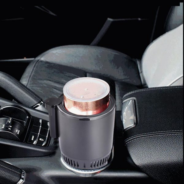 Intelligent Car Cup - Warmer and Cooler with Smart Digital Display 9