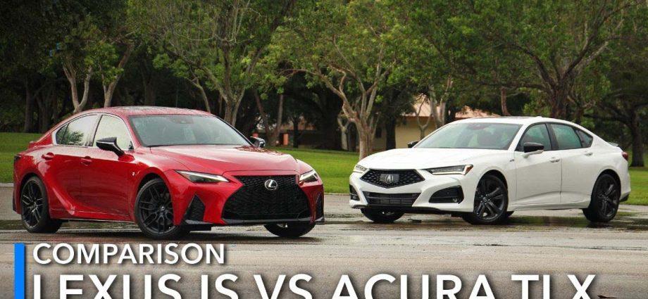 Lexus IS vs Acura TLX