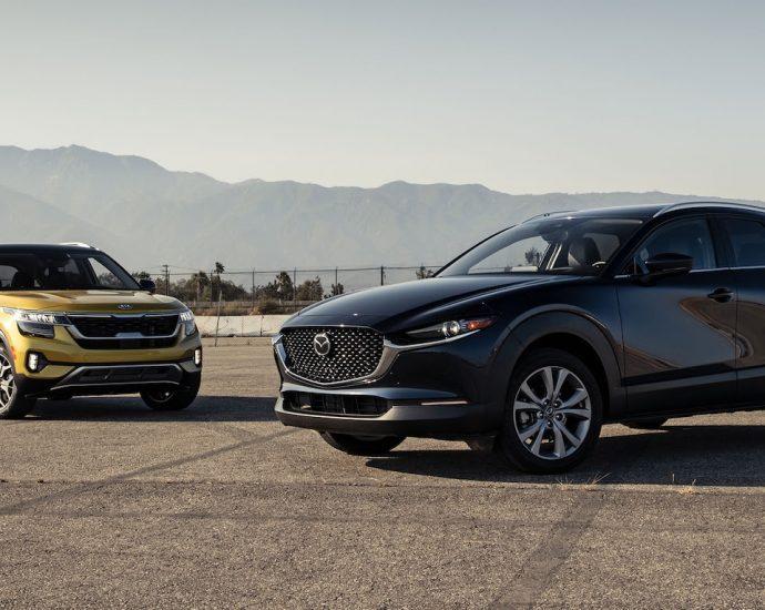 Mazda CX-30 vs Kia Seltos