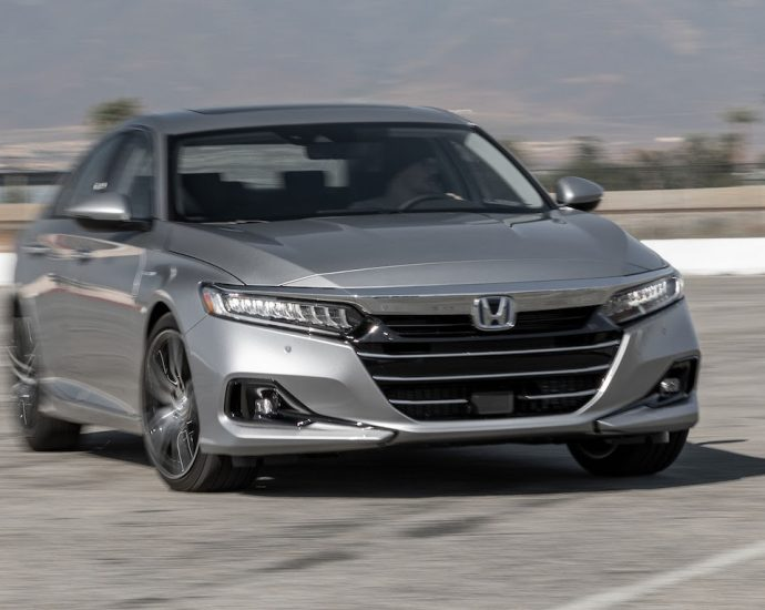 2021 Honda Accord Hybrid First Test