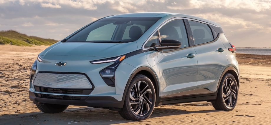 2022 Chevrolet Bolt EV First Look