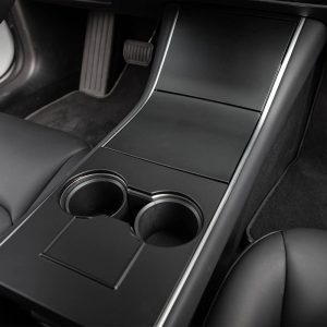 Center Console Wrap - Tesla Model 3 - Tesla Y-Black