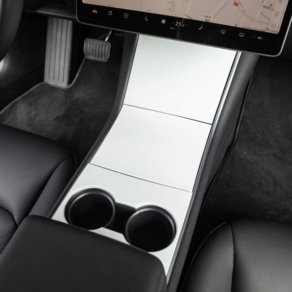 Center Console Wrap - Tesla Model 3 - Tesla Y-White
