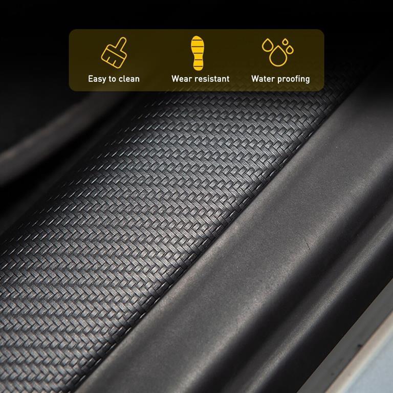 Protective Door Sill Strip For Tesla Model 3-2