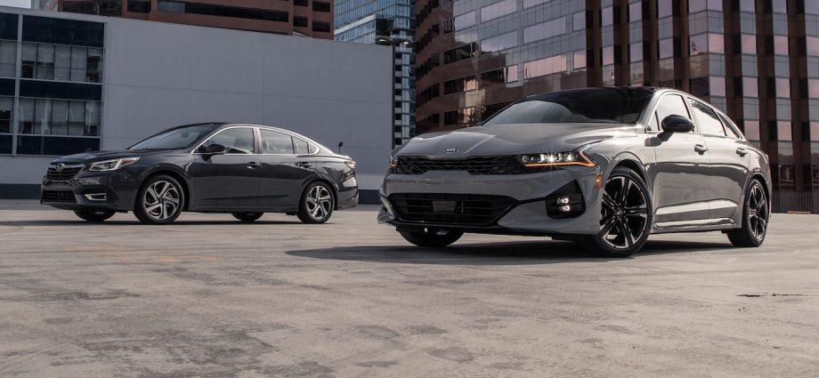 2021 Kia K5 vs Subaru Legacy
