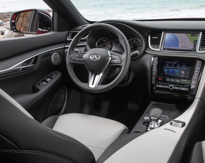 2022 Infiniti QX55 Interior Review