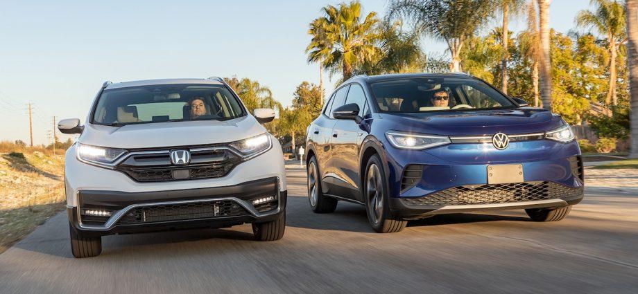 2021 VW ID4 vs Honda CR-V Hybrid