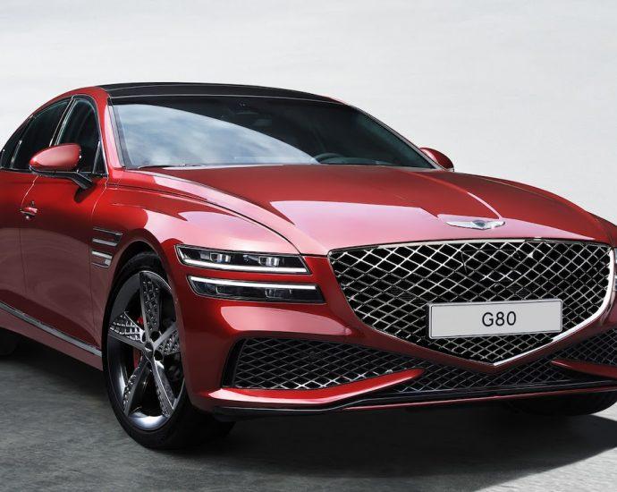 2022 Genesis G80 Sport First Look