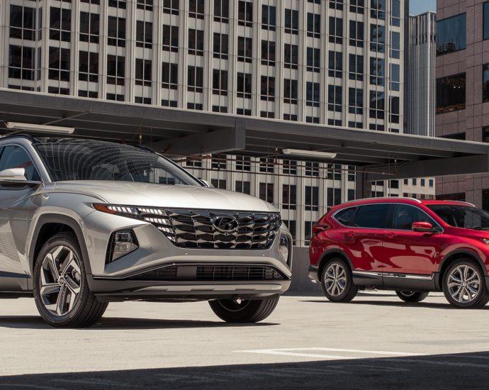 022 Hyundai Tucson Limited vs 2021 Honda CR-V Touring
