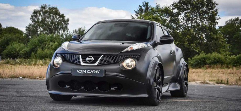 Nissan Juke-R With GT-R Engine